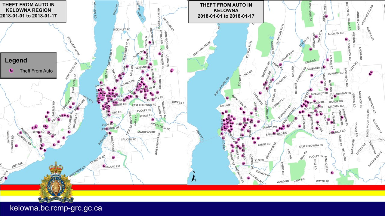 Two arrested on Property Crime related offences PJXM Northern BC
