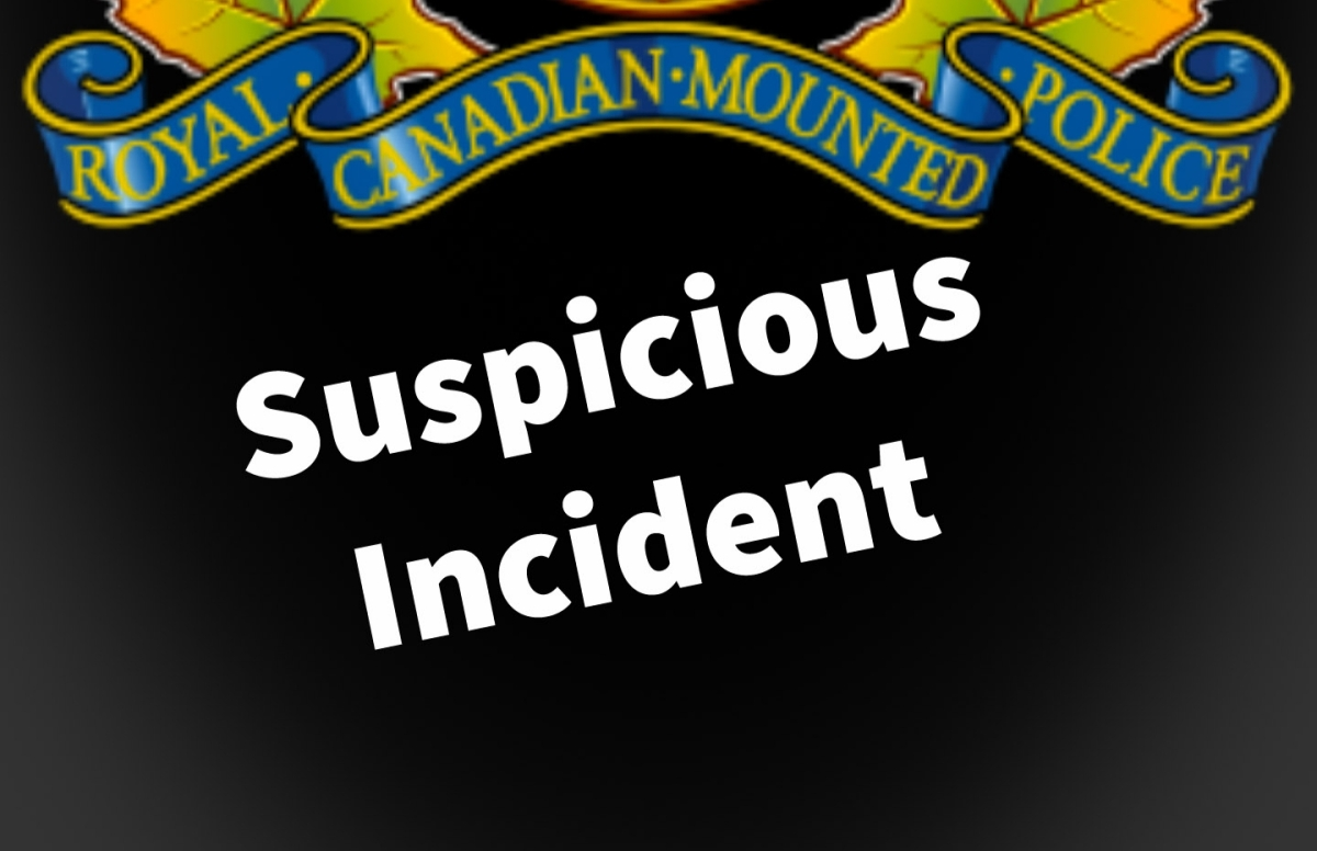 Suspicious incidents continue to be reported by young children...