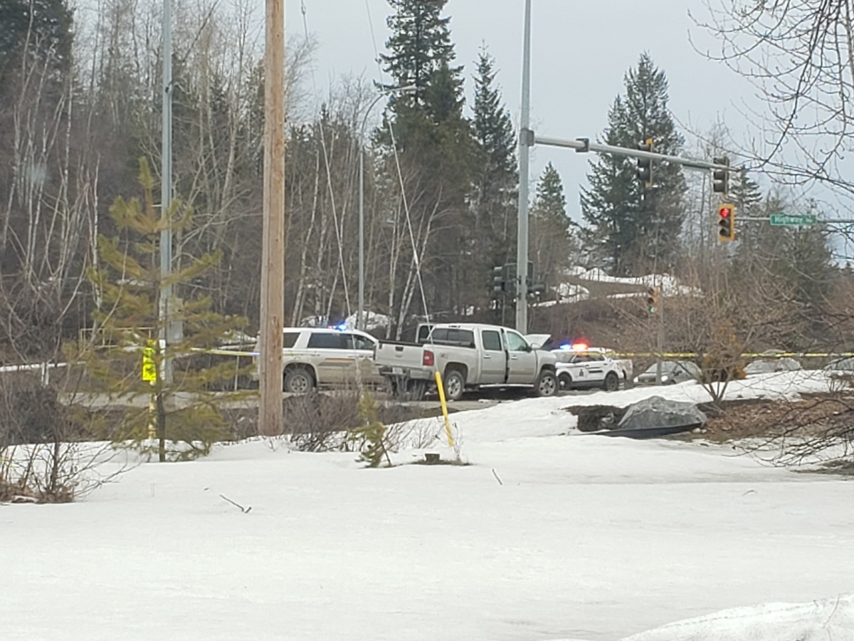 Three seriously injured following crash on Hwy 97...