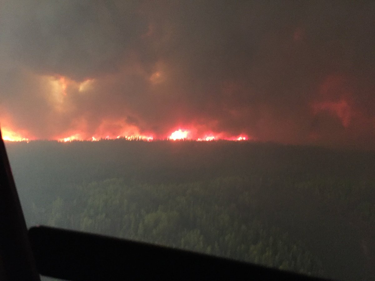 BC Wildfire crews headed to help out Alberta Crews...
